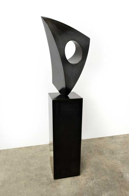 BALANCE #17, 2015, 66H x 16W x 15D, Steel with patina DISCONTINUED