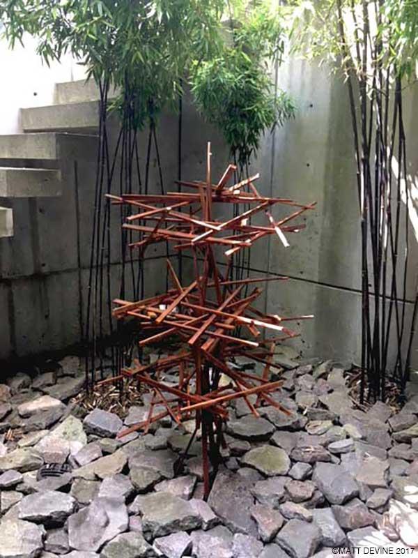 BONSAI, 2017, Corten steel, 60H x 32W x 30D