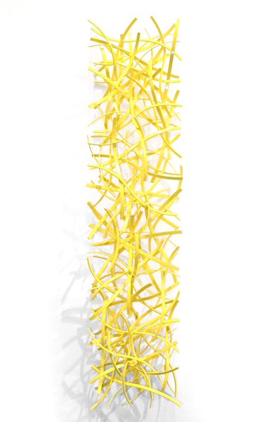 RINGO, 2013, steel with powdercoat, 14W x 60H x 6D