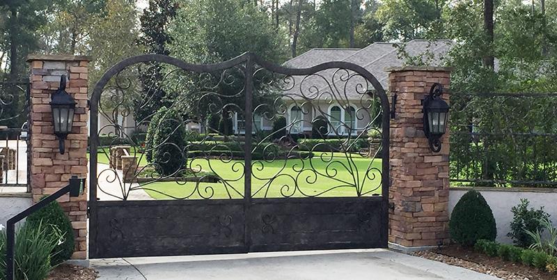 Exterior Fences & Gates Woodlands, Tx