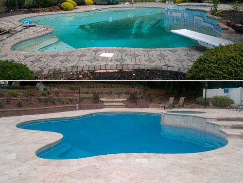 Luxury Pool Remodel - Custom Pool Renovation | The Woodlands ...