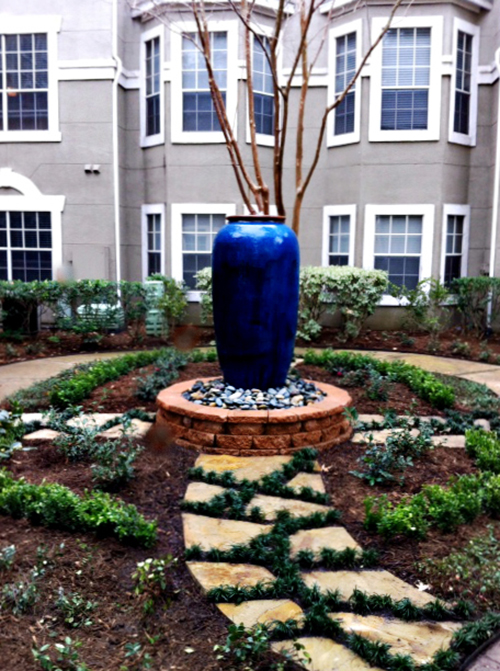 large-water-fountain-feature-urn-pottery-flagstone-courtyard-mondo-commerical-envy-exteriors-the-woodlands-spring-houston.jpg