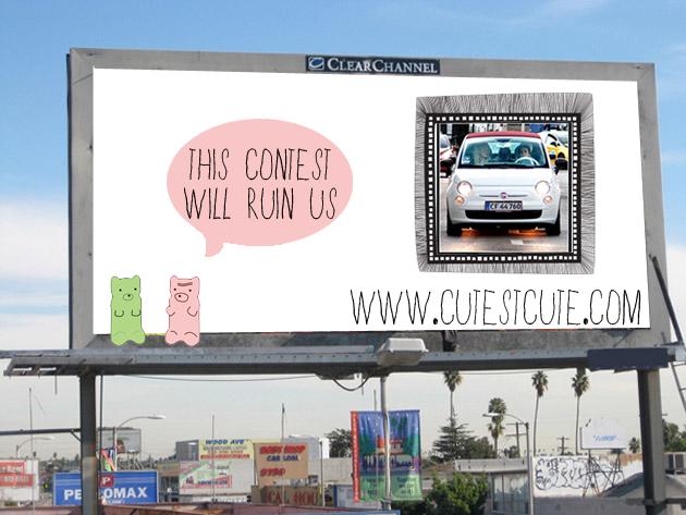 Interactive Billboard Contest
