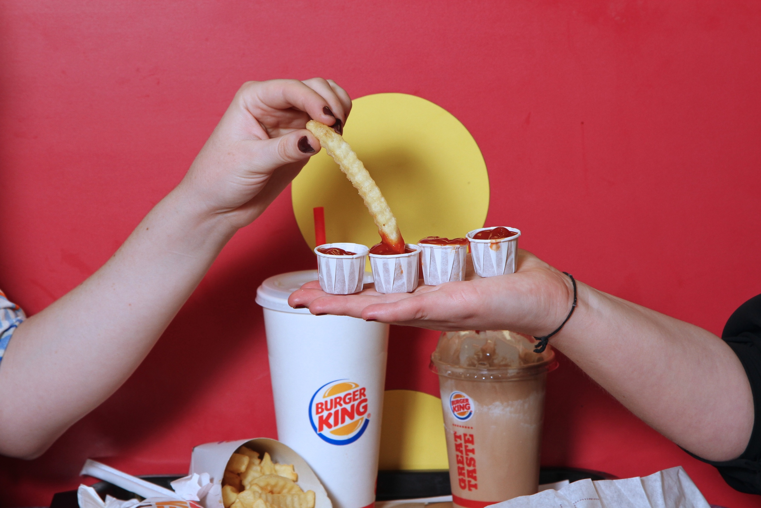 Oh, we ALWAYS quadruple dip.