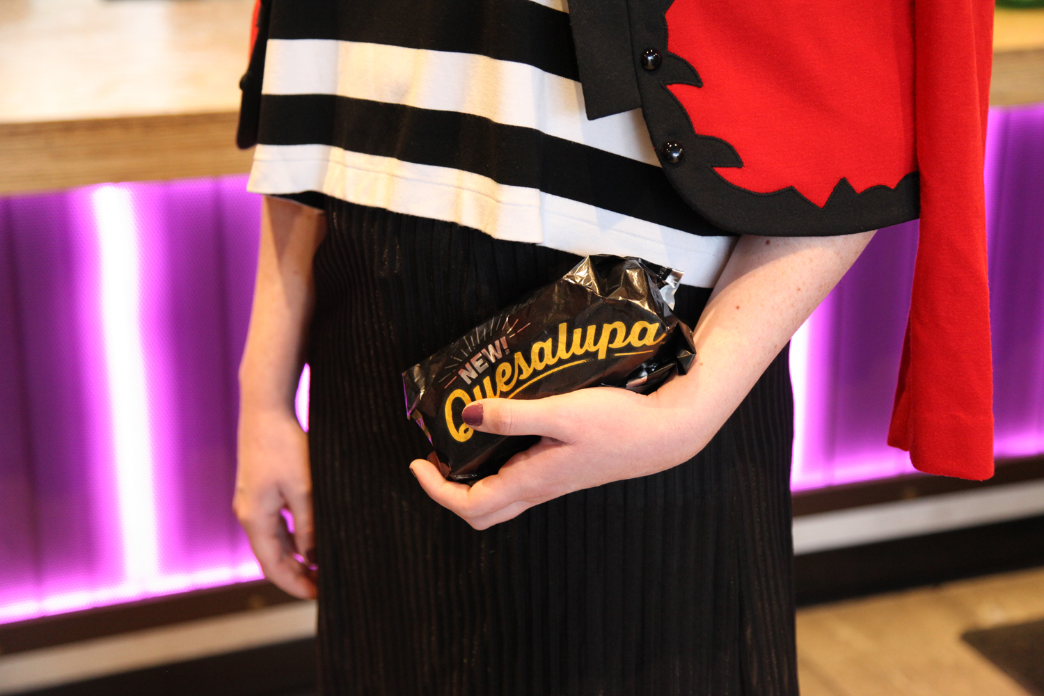 Quesalupa as my clutch, #clutch.