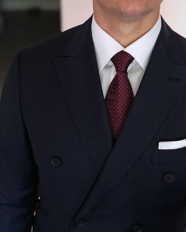 Sometimes it's best to just go with the classic power suit. #hudsonsuits #bespoke #tailormade #custommade #customsuits