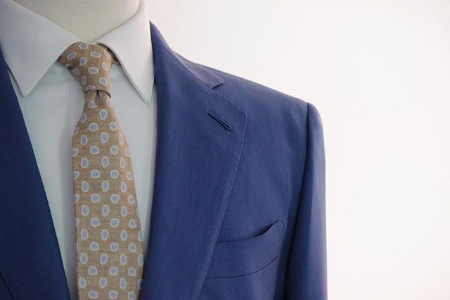 Tried and true classic blue #hudsonsuits #bespoke #tailormade #handmade #customsuits #custommade #neversettle