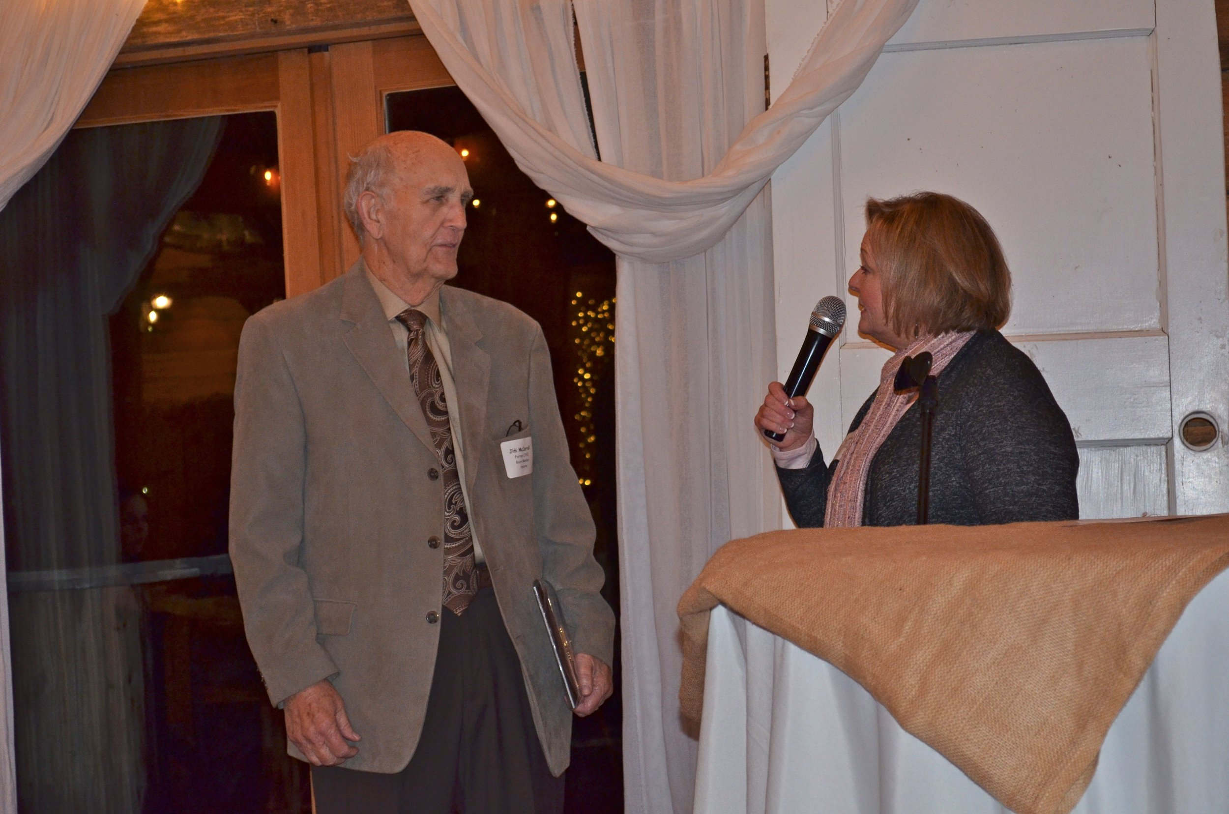Jim McCarroll and Pam Potocik