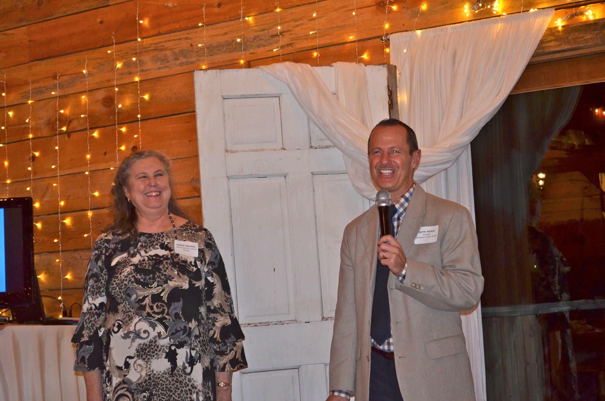 Debbie Hutchins and Darrin Nichols