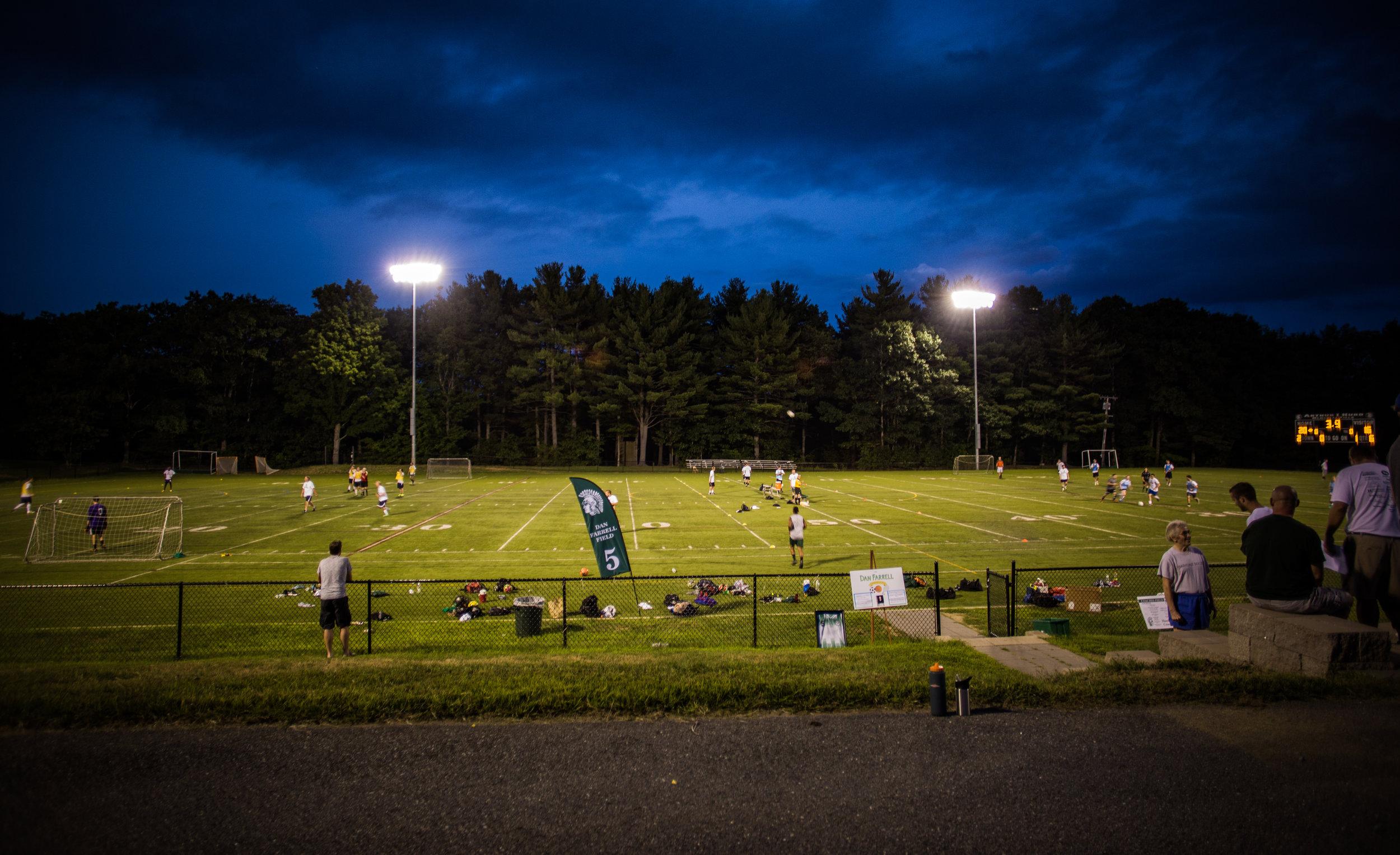 2016 Oakmont Alumni Soccer Game