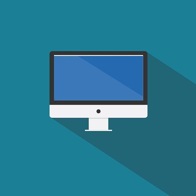Tools of the Trade (3 of 3): Computer . . . #art #design #vectorart #graphic #shadows #blue #computers #keyboard #flatdesign #illustrator #adobeillustrator #adobe #photoshop #keys #sunday #graphics #camera #nikon #sony #canon #computer #toolsofthetrade