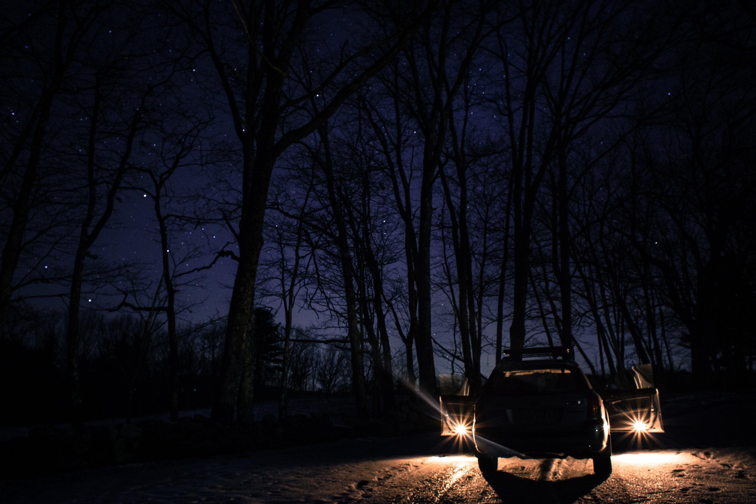 Subaru in the Night