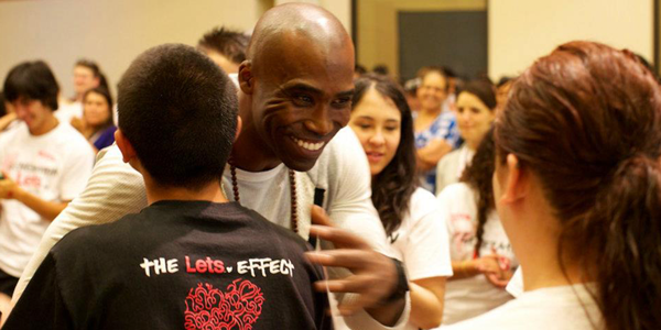 Keith as advocate of The Let's Effect