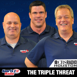 CBS Sports 610 Radio Houston Triple Threat