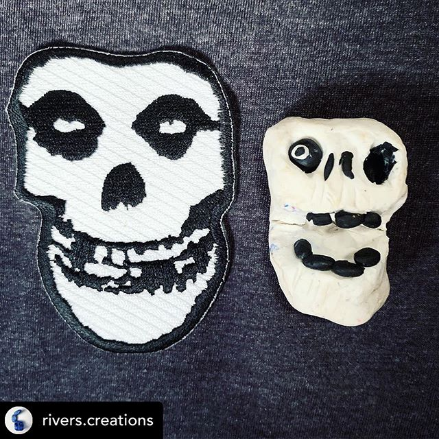 My 5 year old son, River, loves sculpting - you should go follow his page and check out his work! It's mostly monsters and horror...you'll love it 🖤💀🌚 #repost @rivers.creations  Horror Business 💀