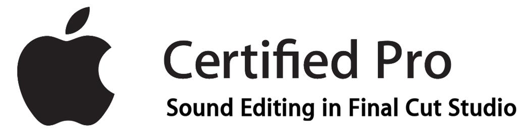 Certified Professional Sound Designer