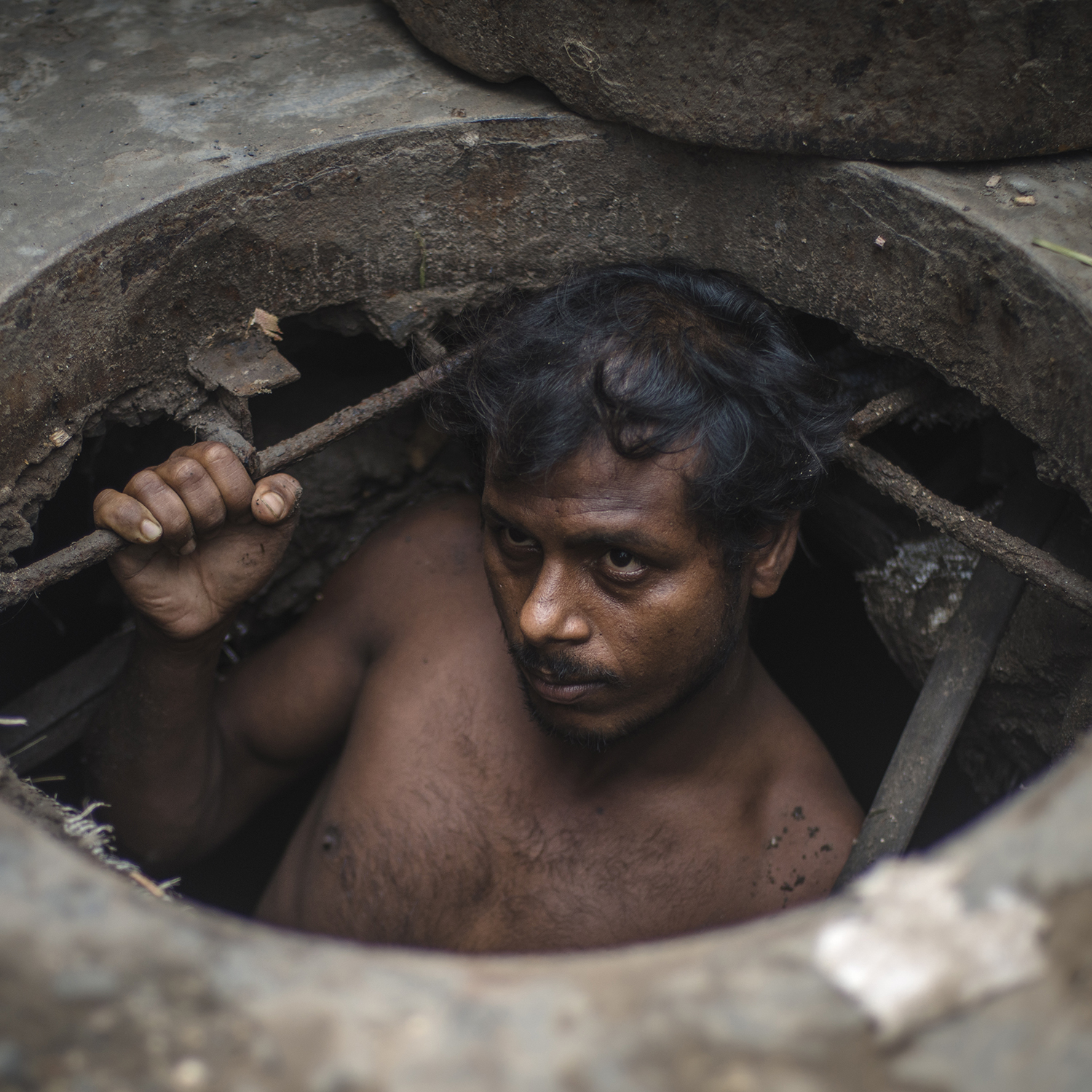 INDIA'S MANUAL SCAVENGERS