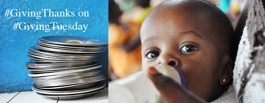 This #GivingTuesday we invite you to support an end to hunger for kids in Congo. A gift of $10 or more will help ensure the the children at St.Kizito Orphanage have a chance to thrive!