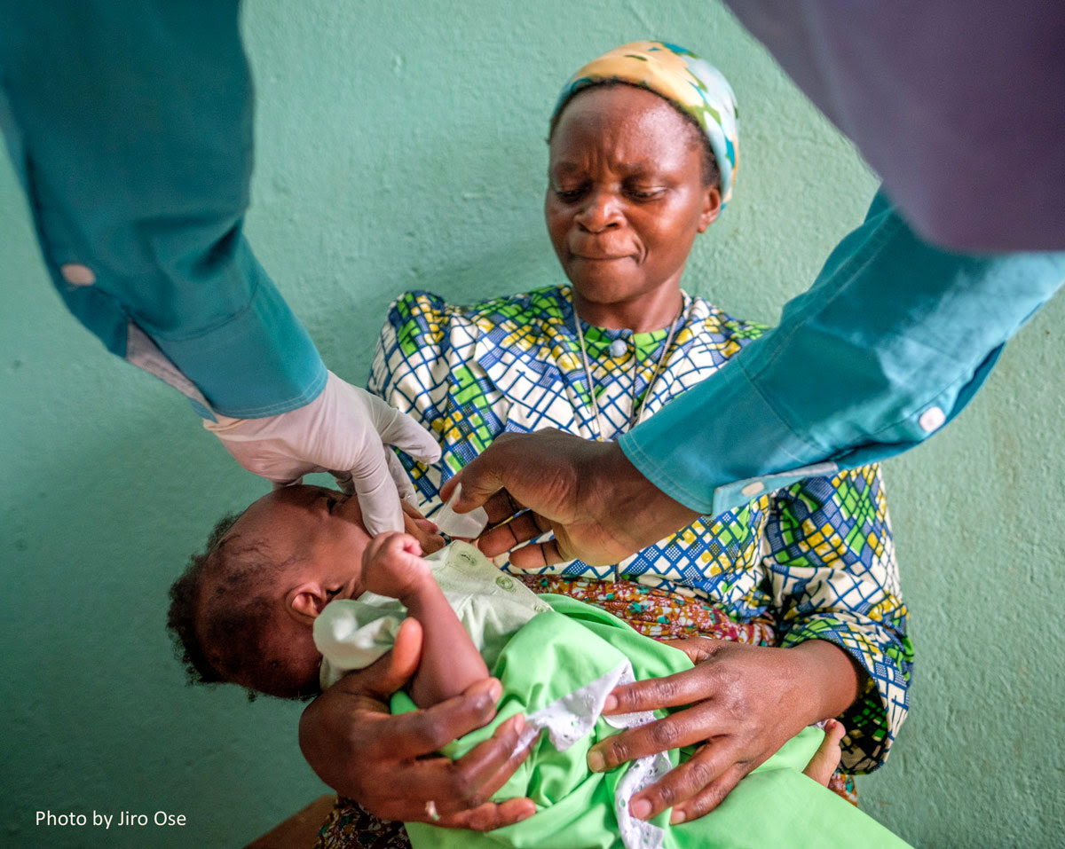 A new baby comes to St. Kizito. The first goal is to provide medical and emotional attention and then a long-term home with supportive care.