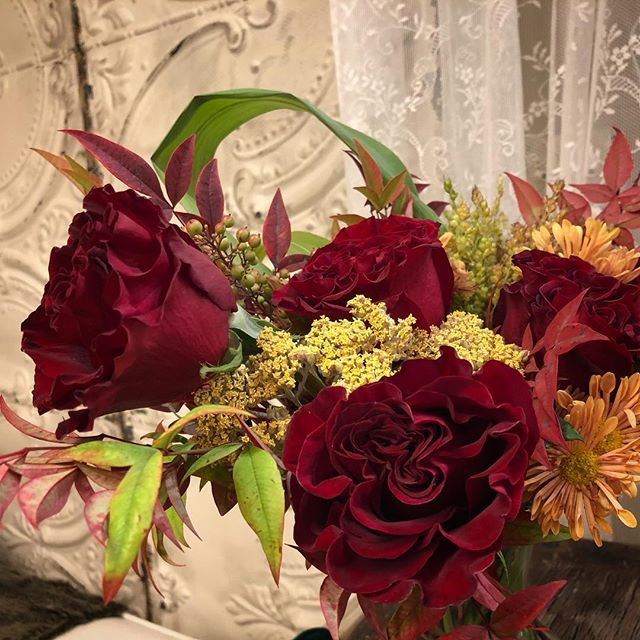 Incredibly beautiful flowers!  Thank you to our client/florist who brightened our day with them!
