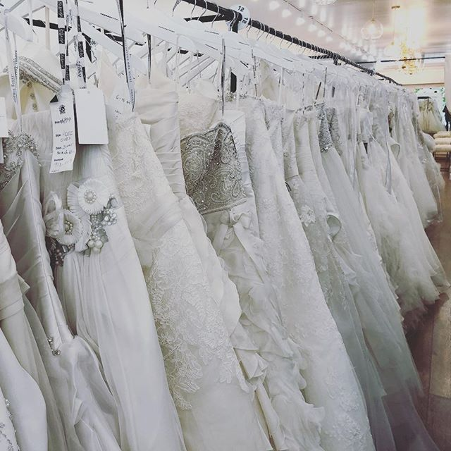 Visited our good friends at Brides for a Cause yesterday!  What lovely delights they have in stock.  We were very tempered by the sequin and organza skirt :) If you are getting married and haven't checked them out yet, do yourself a favor.  The team is so kind and helpful, and a portion of their proceeds go to charity every month!  Plus you can buy off the rack so you can take home a dress today!