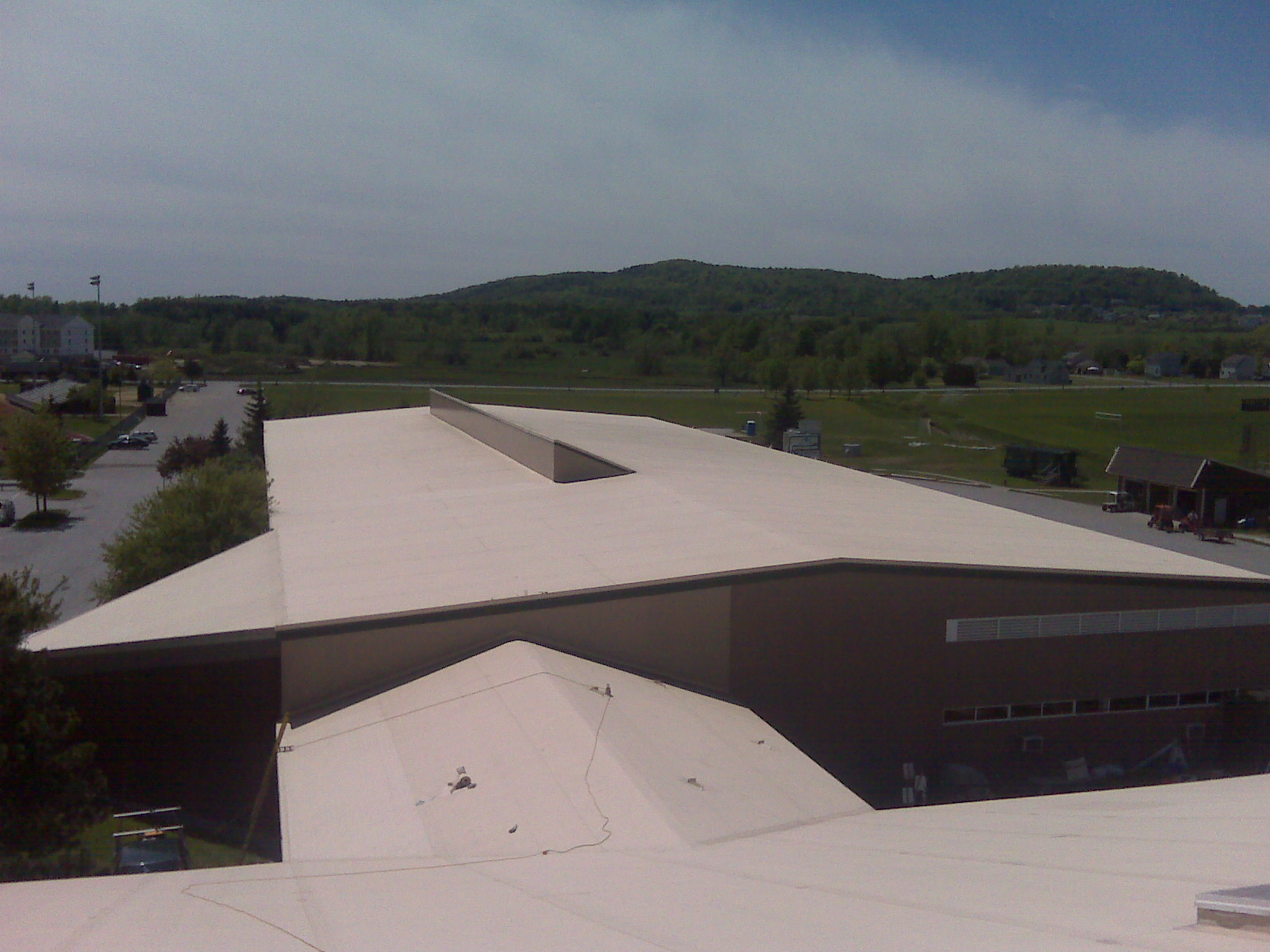 Collins Pearlly Arena - Fully adhered Firestone TPO