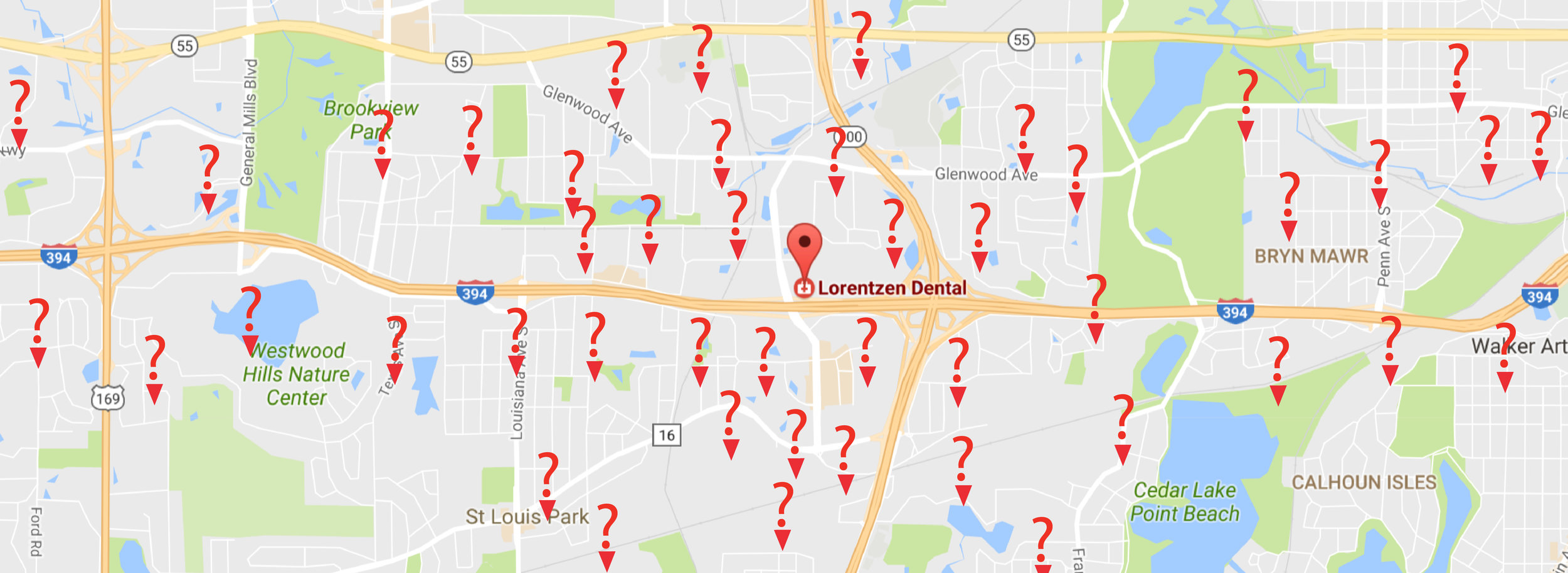 Lorentzen Dental is your convenient dentist for Golden Valley, Saint Louis Park, Minneapolis, Minnetonka, Plymouth, New Hope and Hopkins.