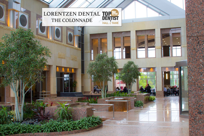 The Colonnade Atrium Golden Valley Dental Practice