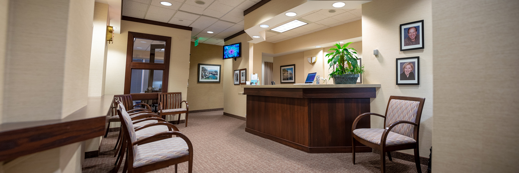 Golden Valley Dental Practice Lobby