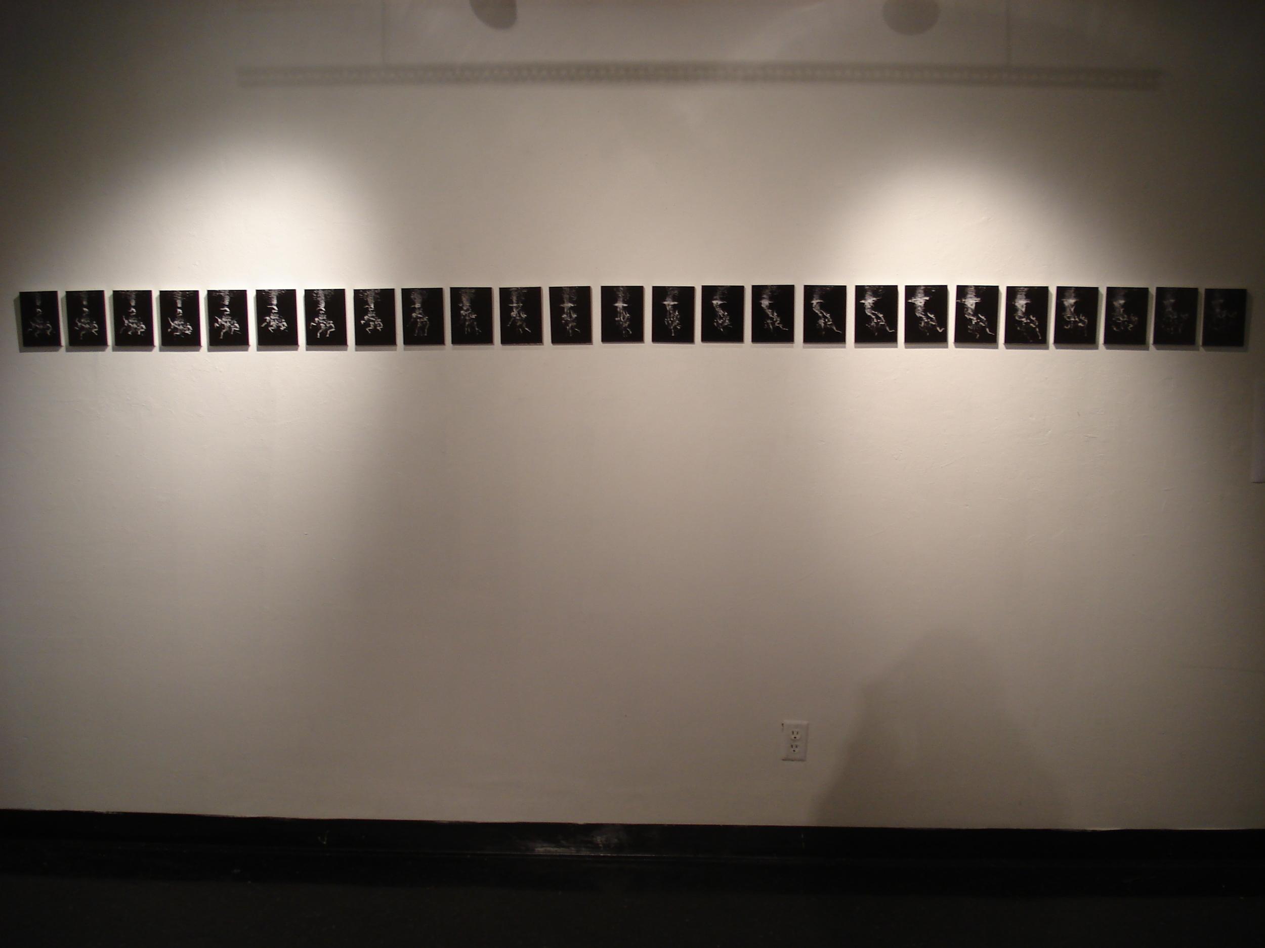 underwater art photograph gallery display