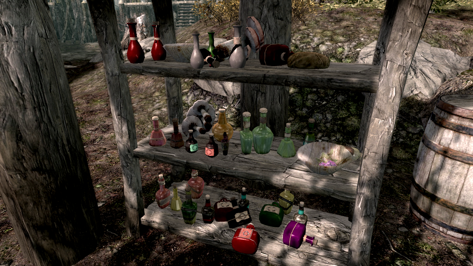 Let's collect all of the potions!