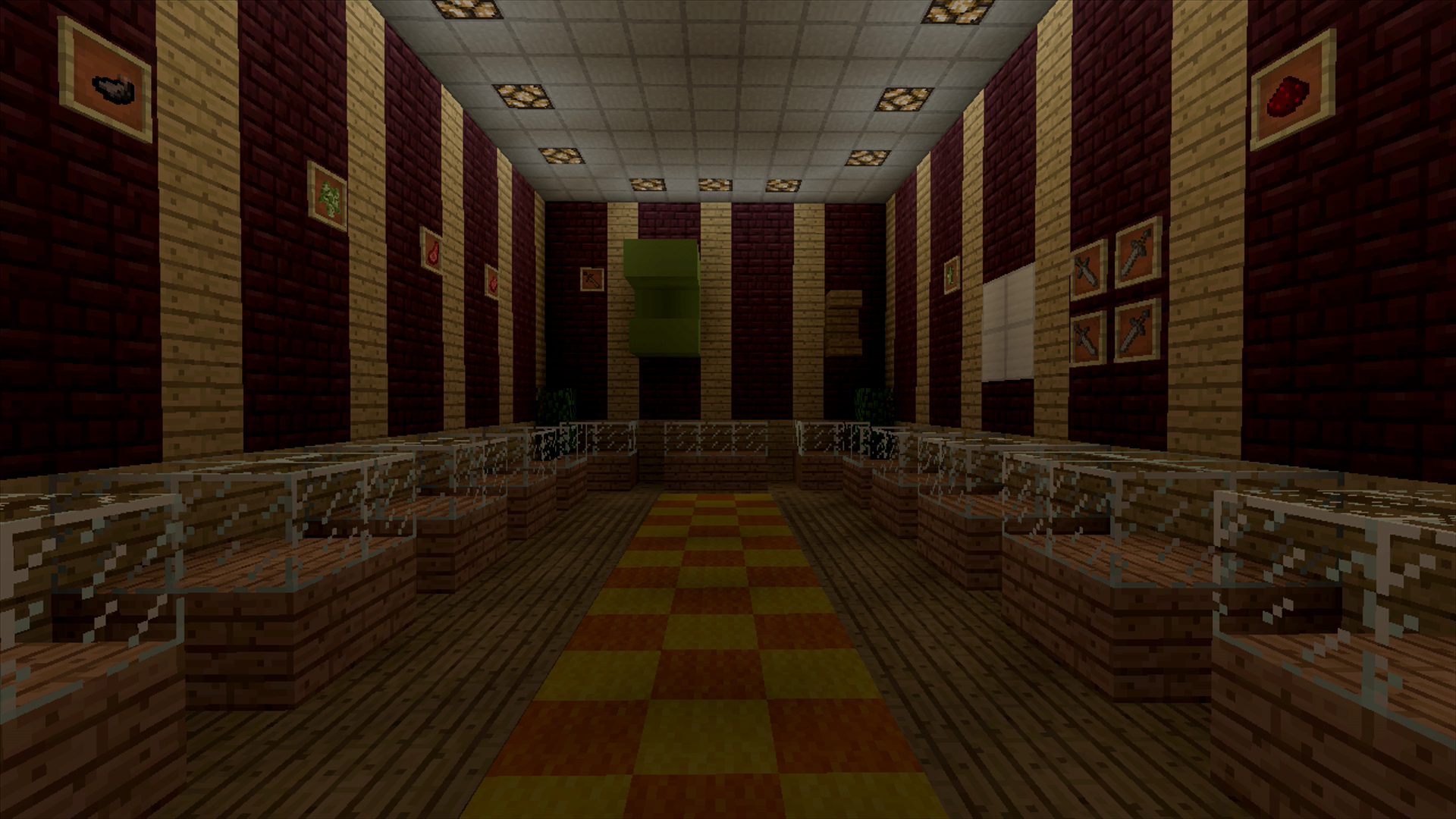 TRA Wii players will know this exclusive trophy room.