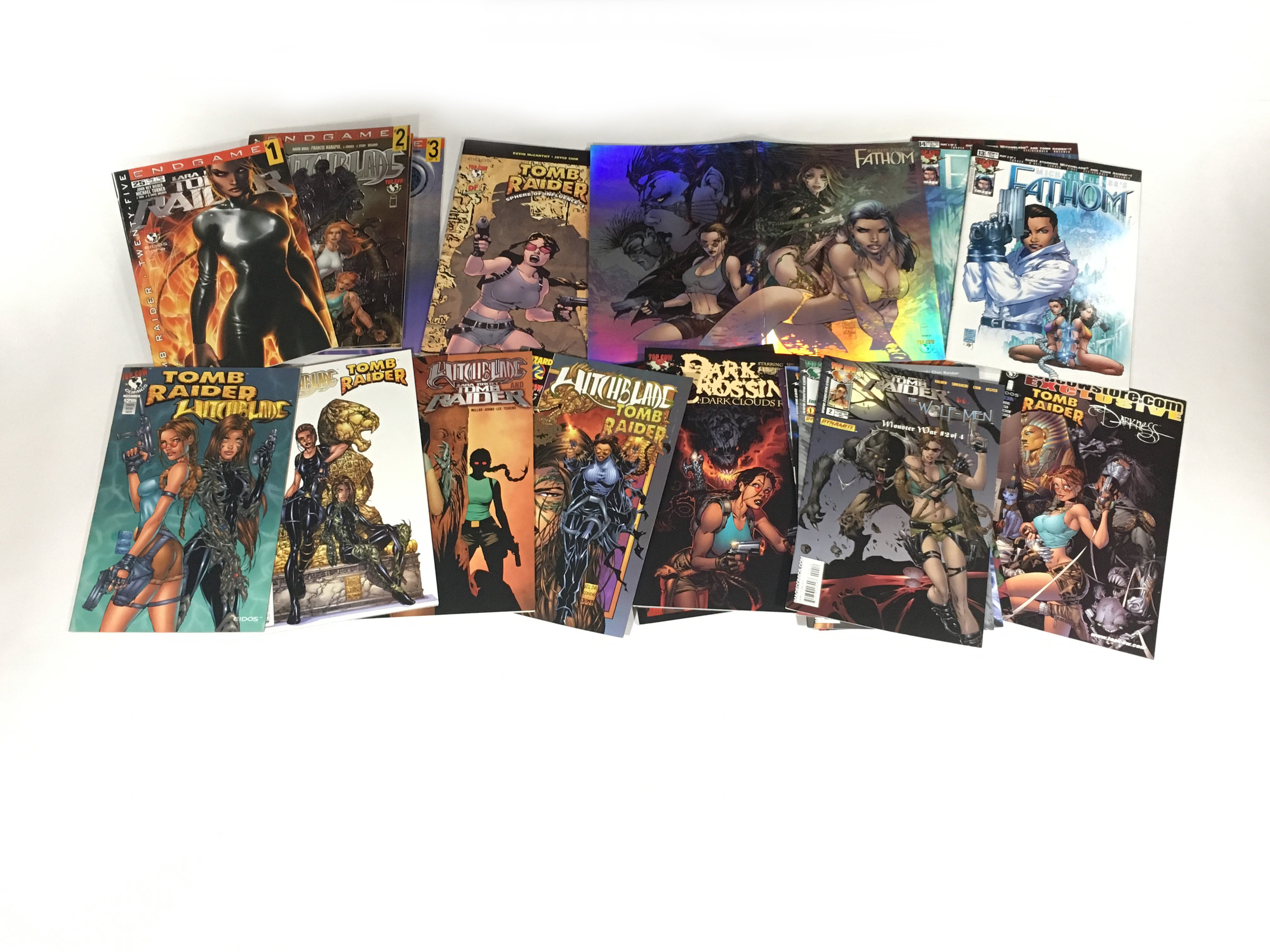 Top Cow came out with a dozen or so comics that could not be collected into a Library edition volume due to their crossovers with other various intellectual properties. That being the case, I submit to collecting paperback issues. However, if there's an opportunity to get a foil cover… sure.