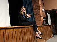 Sexual assault victims speak out at 'It Was Rape' screening   Daily Wildcat  , 3/27/13