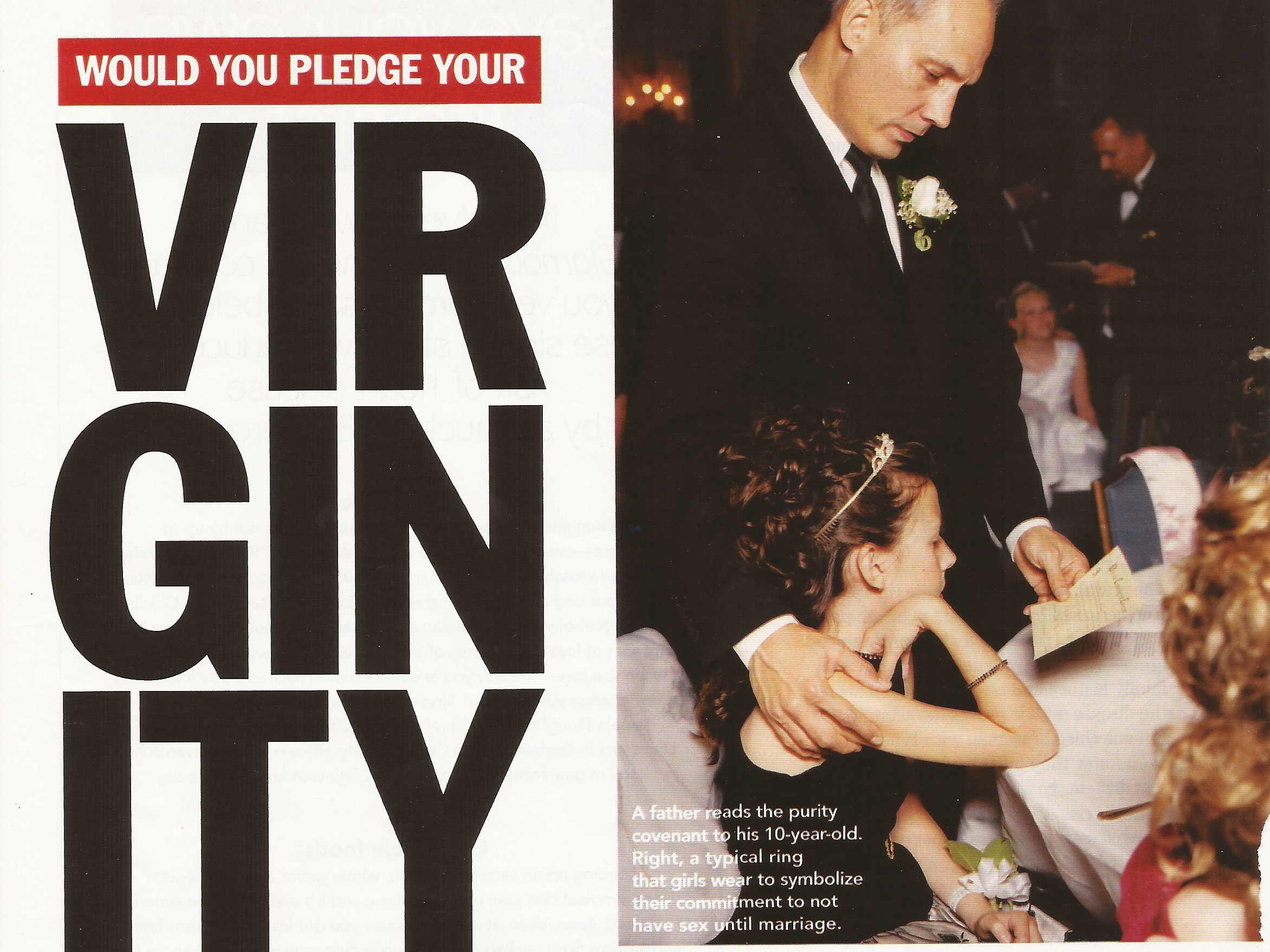 Would You Pledge Your Virginity to Your Father?  Glamour Magazine , February 2007