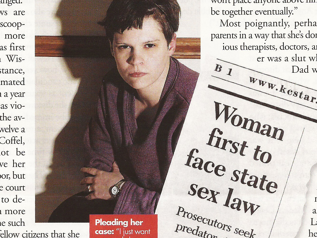 Is This Woman, A Sexual Predator?  Elle Magazine  , 2002