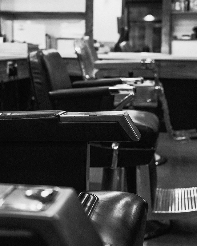 These barber chairs have seen it all.