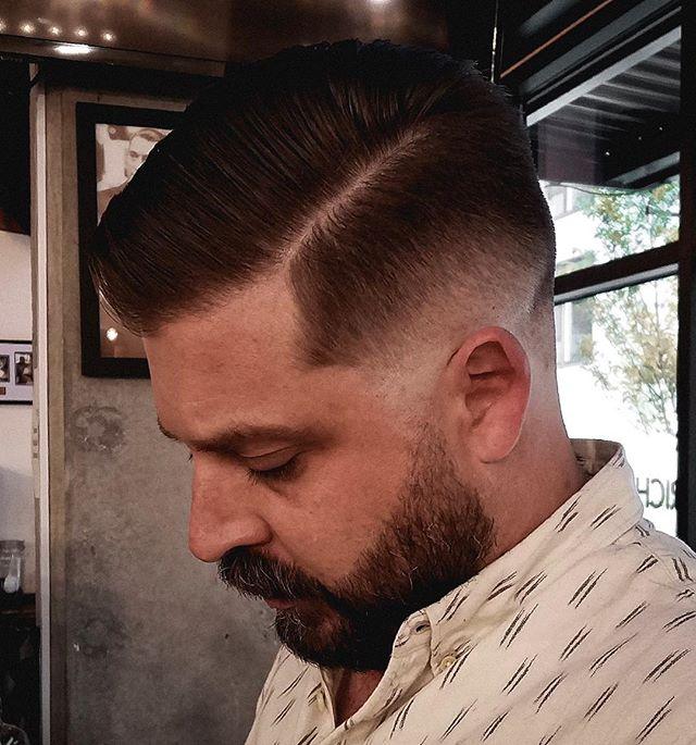 Hope everyone is having a great morning. Fades for days, cut by Luke Ammon. . . . . . #haircut #fade #oregon #pnw # Portland #lakeoswego #skinfade #richardhenrybarber #barbershop #barber #shave #straightrazor #beard
