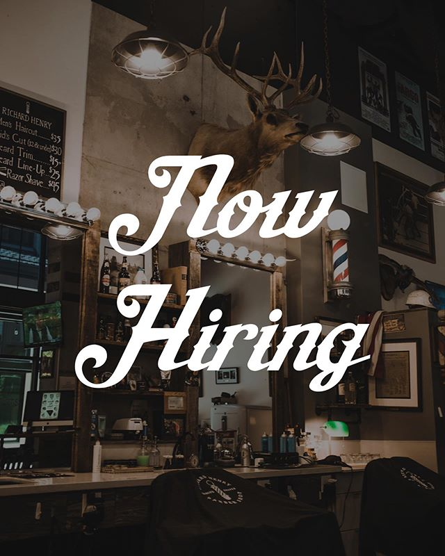The shop has never been busier and looking to add someone to the team. DM for details.
