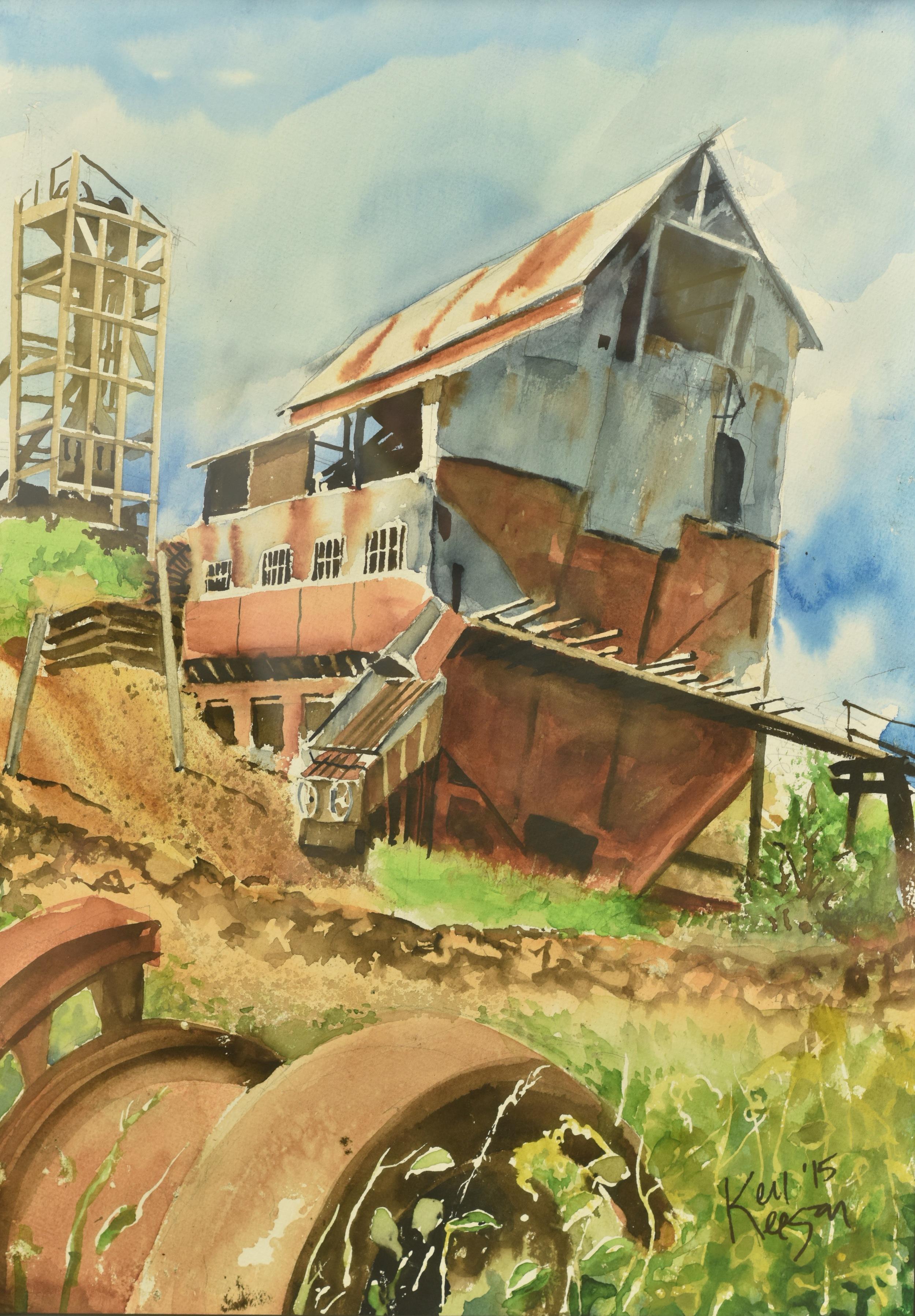 "Ken Keegan, ""The Portland Mine"""