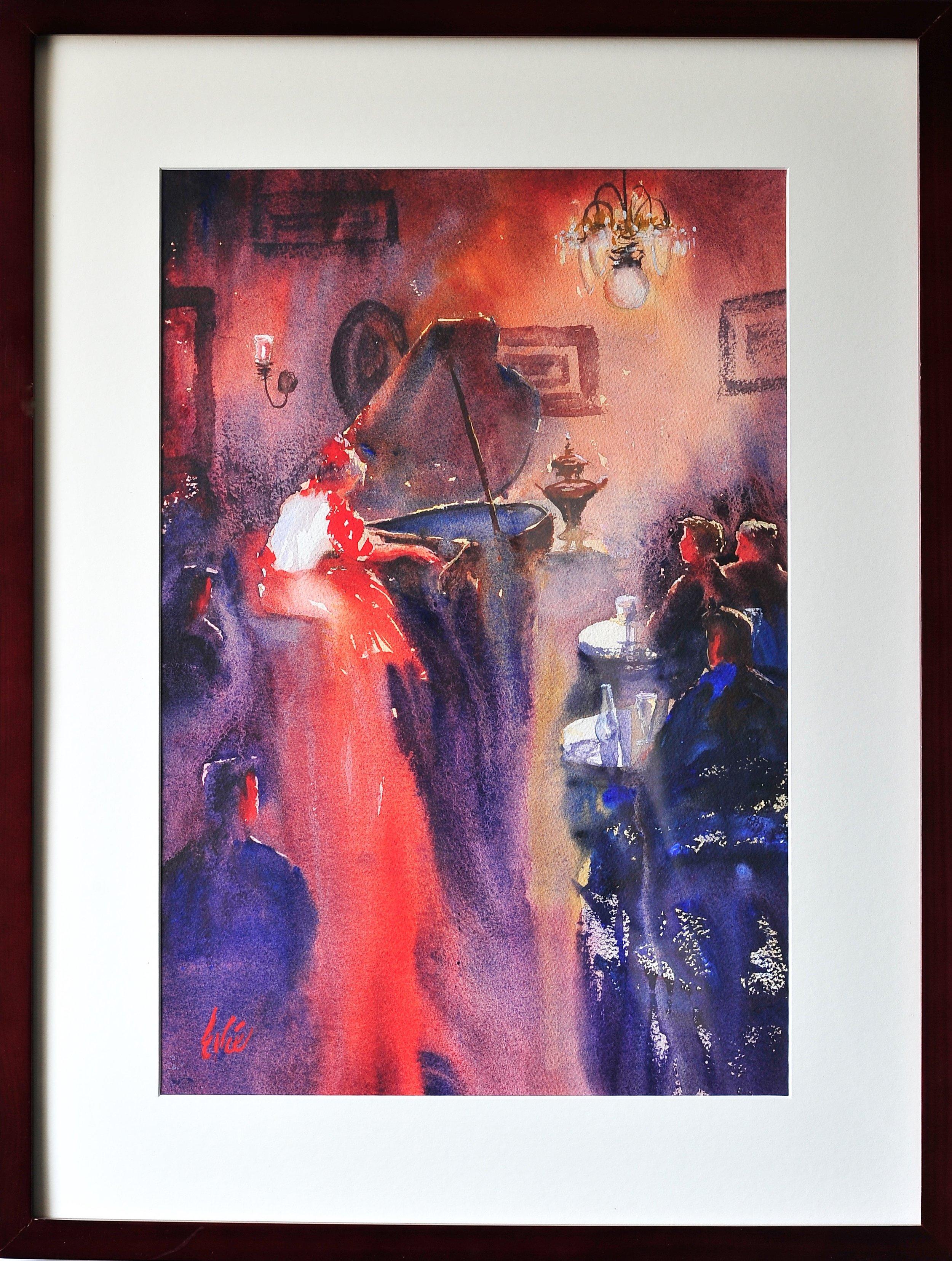 "Elks Award and June Bradley Interior Award, ""Mrs. Carlton's Ghost"", Evie Huhta"