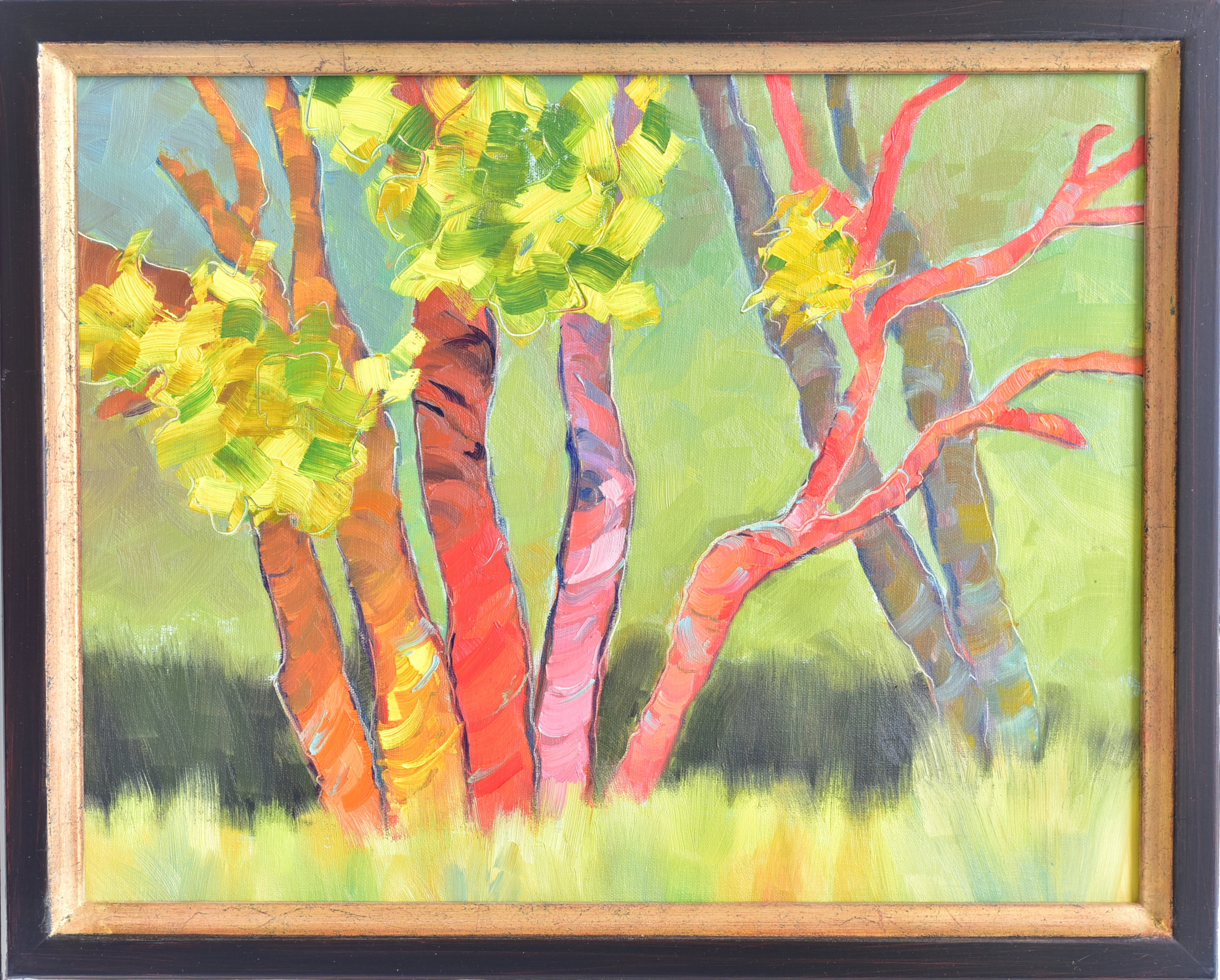 "Non-Professional Second Place   Gail Denton   ""Aspen on Parade"""