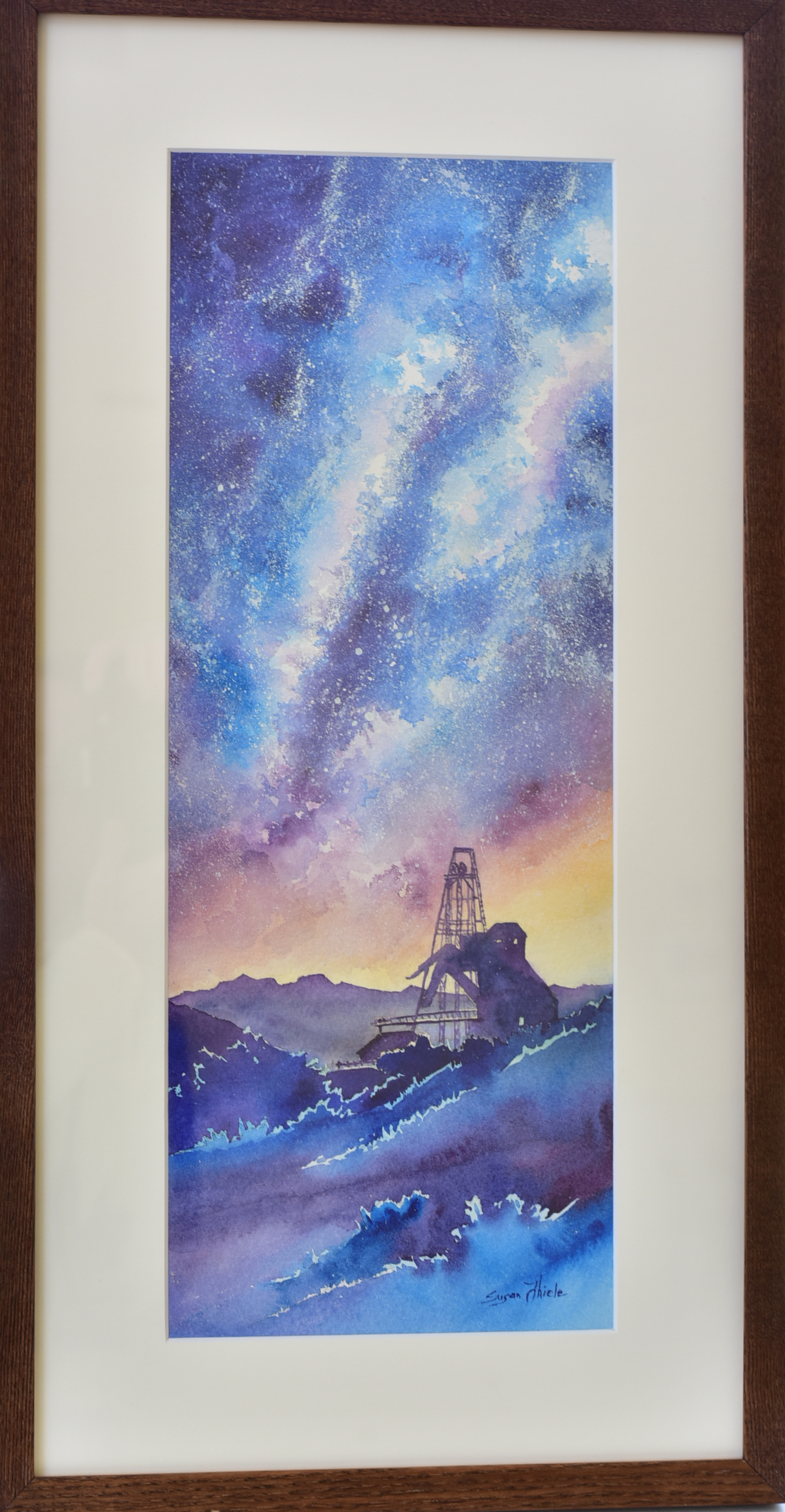 "Cripple Creek & Victor Mining Company  Susan Theile  ""Vindicator Galaxy Sunset"""