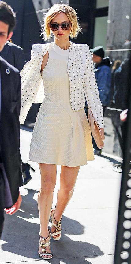 Jennifer Lawrence in 3.1 Phillip Lim + Chloe