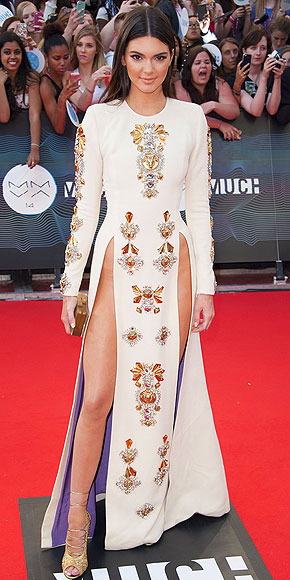 Kendall Jenner in Fausto Puglisi