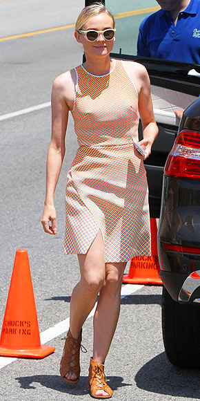Diane Kruger in Dion Lee