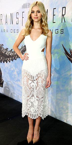 Nicole Peltz in Dolce & Gabbana + Stella McCartney