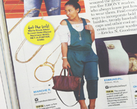 September 2014: Ebony Magazine How to Choose Your Accessories