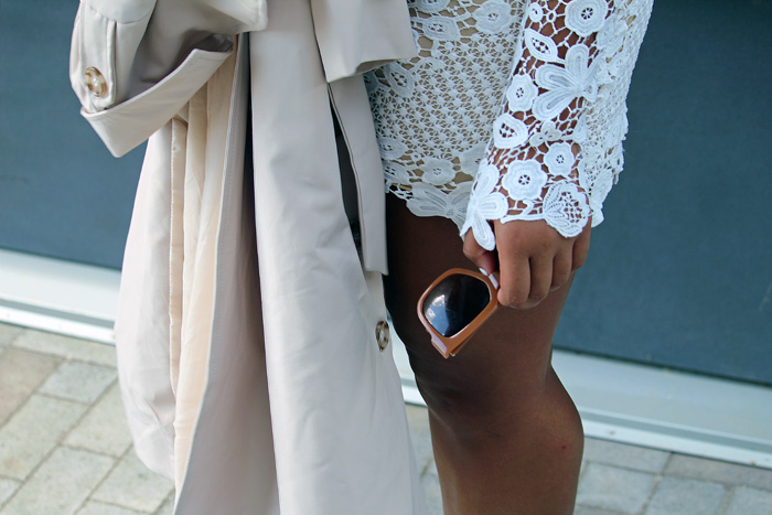 Robinson-Style-Shop-Trench-and-Long-Sleeve-Lace-Mini-Dress-BCBG-pumps-Banana-Republic-sunglasses-12.jpg