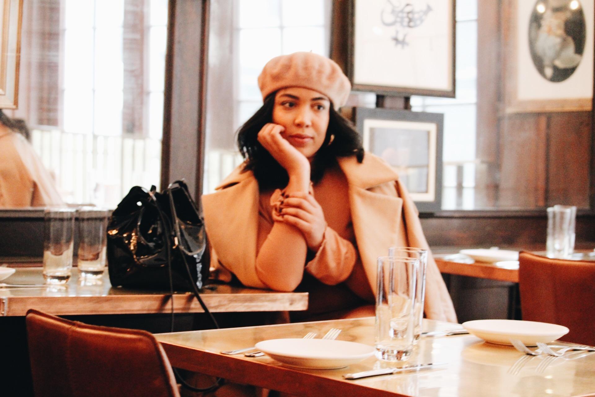 Soho-NYC-Cafe-integral-egg-shop-asos-trench-turtleneck-maxi-dress-hue-tights-patent-bucket-bag-3.JPG